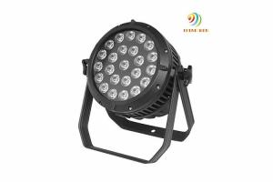 China High Power Dmx Led Par Lights , 24pcs 15w IP20 Led Stage Wash Lighting on sale