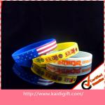 Party Decoration Colorful Silicone Wrist Bracelets Girls Candy 12mm Rubber