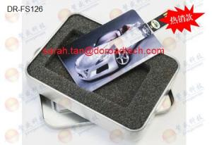 China Plastic Credit Card USB Flash Drives by Original and New Memory Chip DR-FS126 on sale