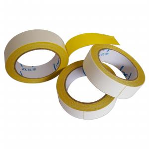 China 1.88inch Heavy Duty Double Faced Carpet Tape High Viscosity Easy Tear Gauze Fiber on sale