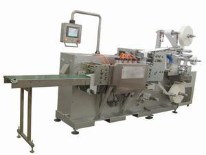 China Paraffin gauze dressing packaging machine / vaseline gauze dressing machine on sale
