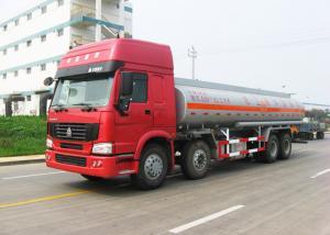China 12 Wheels Sinotruk HOWO Oil Tanker Truck 30CBM Big Capacity 371HP Engine on sale
