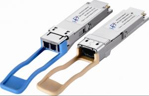 China 40km Multirate QSFP+ Optical Transceiver Module HD-QSFP+/40G-ER4 on sale