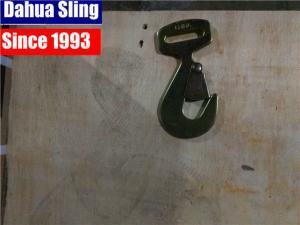 China Black Single / Double J Hooks Large Snap Hooks For Ratchet Strap , CE / GS Approved on sale