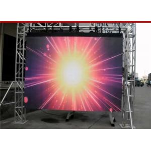 China DIP346 P10 SMD LED Display RGB Floor Stand HD For Concert / Shopping Center on sale