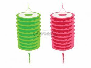 Quality 15 Cm Spring Garland Paper Lanterns Craft Diy Portable Handmade Christmas for sale