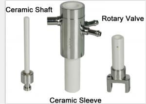 China 99% Alumina Ceramic Parts Li-Battery Filling Pump For Pharmaceutical Industry Liquid on sale