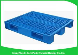 Blue Recyclable Transport industrial Plastic Pallets 4-Way