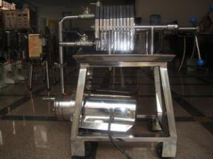 China Pneumatic diaphragm Perfume Making Machine with Frame Filter For Solid-liquid Separation on sale