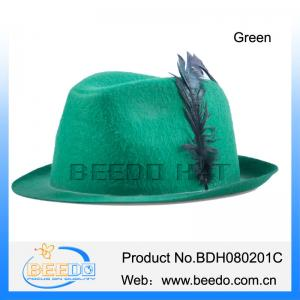 Quality Party Oktoberfest felt alpine germany Bavarian Hat for sale ... 07134d31796a