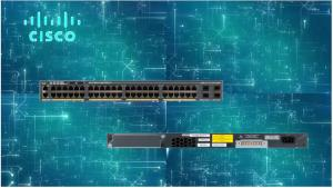 China Original Cisco Catalyst 2960 X Series Switches 48 Port Gigabit PoE Network Switch WS-C2960X-48LPS-L on sale