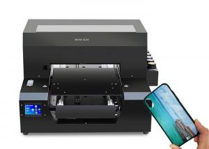 China Universal Digital T Shirt Printing Machine  Automatic Detect UV Curing System on sale
