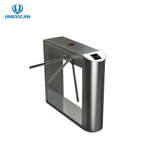 China Stainless Steel Housing Automatic Bridge Tripod Turnstile Gate With Brushless Motor Tripod Turnstile Price on sale
