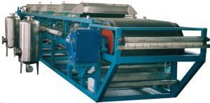 China Filter press zhengpu Horizontal DU Rubber Vacuum Belt Filter Press on sale