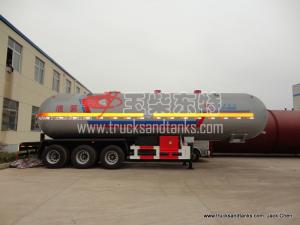 China Liquid Ammonia Tanker Truck on sale