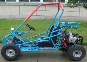 Automatic Transmission 90cc Small Go Karts , Single Seat Go Kart For