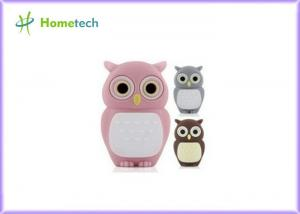 China Silicone 2GB 4GB 8GB 16GB 2.0 Cartoon USB Flash Drive Animal Owl on sale