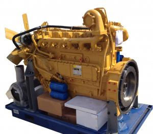 China Yellow Diesel Engine Spare Parts Complete Engine YC6108 For Trucks / Bulldozers on sale