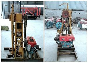 China Easy Move Soil Test Drilling Rig Machine for Soil or Rock Sample Collection on sale