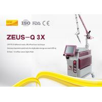 Picosecond Nd Yag Laser Tattoo Removal Machine Steel Sheet Material For Salon