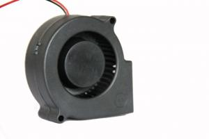 China 12V 24V DC Blower Fan Car Cooling Type 3500/4500rpm Speed Plastic Material Black on sale
