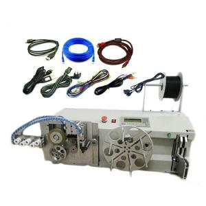 China Programmable Wire Coil Binding Machine Cable Rewinding Cutting Machine on sale