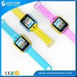 China New Products 2016 GPS Tracker V83 Kids Smart Watch wrist watch gps tracking device android IOS for kids wholesale