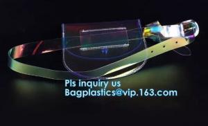 China Laser PVC Sports Belt Bag,Waist Bag,Fanny Pack, Waist Bag Case Pouch Clear pvc sports waist bag / transparent belt, bag on sale