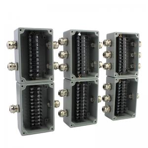 Pleasant Die Cast Aluminum Distribution Junction Box Waterproof With Terminal Wiring Digital Resources Minagakbiperorg