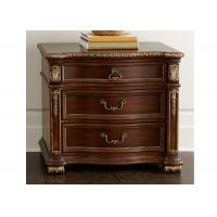 European Style Carved Custom Cabinets Bedroom Set Furniture