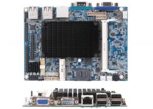 China Atom N2600 CPU 3.5 Embedded mainboard For Industrial PC support 24bit Dual Channel LVDS on sale