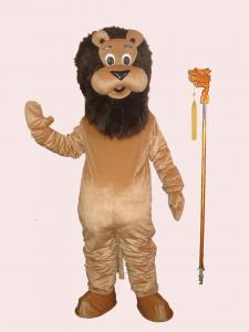 Quality Handmade kids animal full body carnival lion mascot cartoon costumes for sale