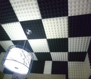 China Black Insulation Foam , Acoustic Soundproofing Polyurethane Foam Sponge on sale