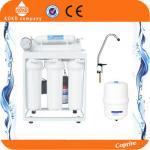 Sistema de aço da filtragem da água da osmose reversa da prateleira sob a pressão esquemática da instalação do dissipador - no torneira