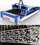 Découpeuse de plaque métallique de laser de fibre avec l'épaisseur jusqu'à 20cm