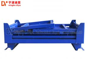 China Blue Steel Warehouse Storage Racks , Industrial Steel Folding Turnover Pallet Box on sale