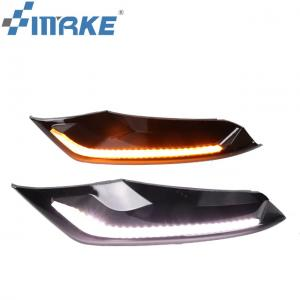 China Auto Accessories Front Fog Lamp Led Drl For Mazda 3 Axela Daytime Running Light 2019 on sale