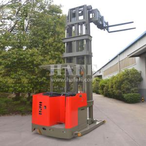 China 1T 7.5M narrow aisle electric 3way stacker/electric forklift With very good performance on sale