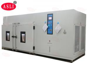 China Solid Walk In Stability Chamber With With Higher Temperature And Faster Cycling on sale