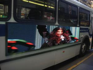 China Creative Outdoor SMD LED Bus led display manufacturer for Advertising Signs on sale