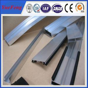 Quality extruded aluminium custom profile manufacturer,6063 aluminium U H profile for sale