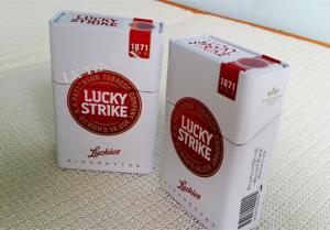 China Porte-cigarettes en métal de tabac de batte avec graver, cas de paquet de cigarette on sale