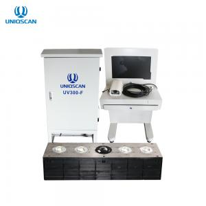 China UNIQSCAN LPR Software Under Vehicle Inspection Scanner UV300-F For Under Car Bomb Detector on sale