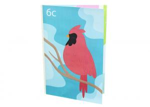 China Sound Voice Musical Greeting Cards Module Paper Material Full Color Printing on sale