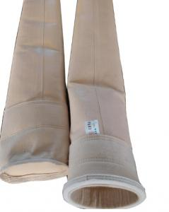 China Longlife Power Plant Dust Filter Bag Industrial 500g / M2 Pps Material on sale