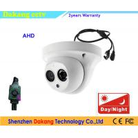 AHD 1080P 2.4MP Array LED Analog Dome Camera Video With Wide Angle