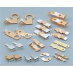 China Brass Parts Of Welding Machine / Electrical Stamped Metal Parts For Starter wholesale