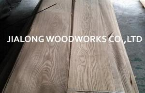 China Ash Wood Veneer Sheet Crown Cut for Plywood With AA Grade on sale