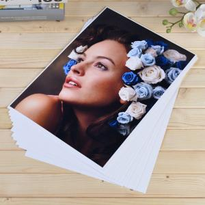China Inkjet Matte Coated Photo Paper Single / Both Faces For Studio Photographer on sale