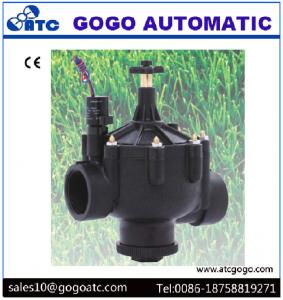 China Flow Control Solenoid Valve , G / NPT / PT Port Thread Nylon Solenoid Valve IP 65 on sale
